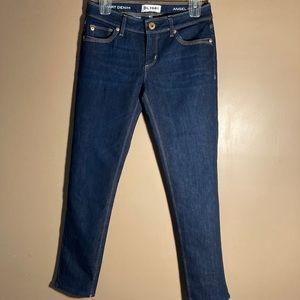 DL1961 Angel mid rise skinny ankle cigarette jeans